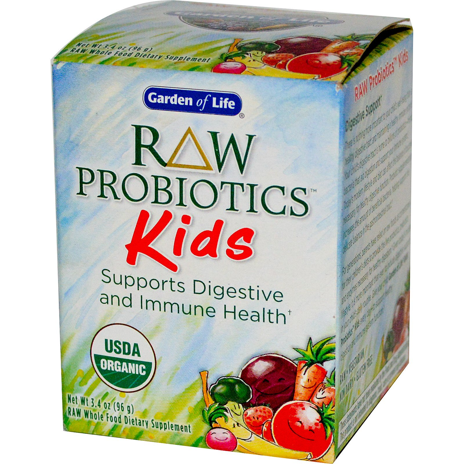 vegetarian garden picture dr products megavits health kids raw chewables formulated ultimate care natural billion life organic vitamins probiotics supplements of head