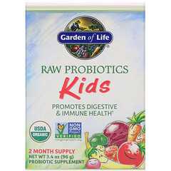Garden of Life, RAW Probiotics, Kids, 3.4 oz (96 g)