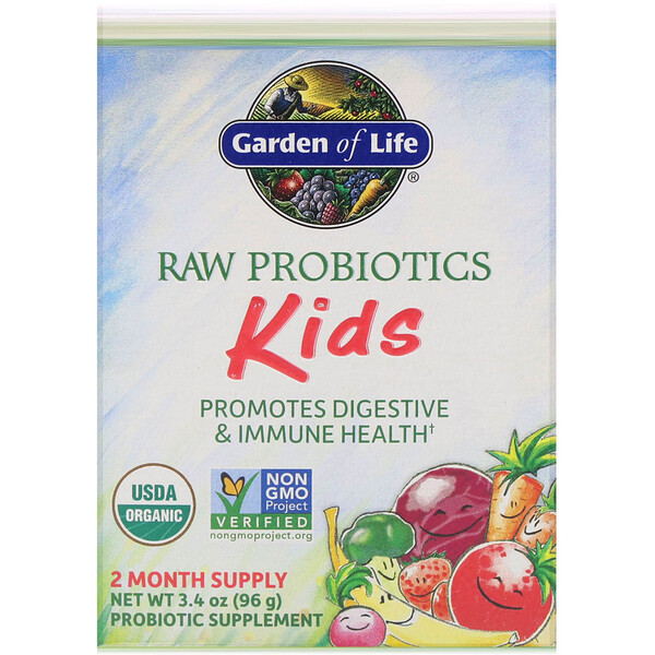 RAW Probiotics, Kids, 3.4 oz (96 g)