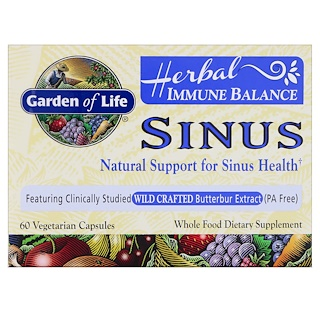Garden of Life, Immune Assist 24/7, 960 mg c/u, 90 Tabletas