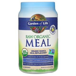 Garden of Life, RAW Organic Meal, Shake & Meal Replacement, Vanilla, 2 lb 2 oz (969 g)