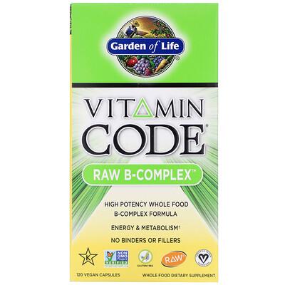 Vitamin Code, RAW B-Complex, 120 Vegan Capsules недорого