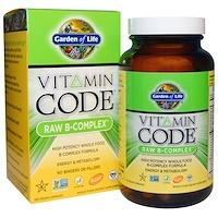 Витаминный код, сырой B-комплекс, 120 веганских капсул - фото