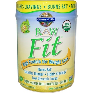 Garden of Life, RAW Organic Fit, High Protein for Weight Loss, Original, 15.1 oz (427 g)