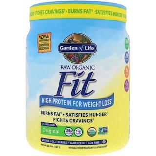 Garden of Life, RAW Fit، بروتين فائق لفقدان الوزن، 16 أوقية (451 غرام)