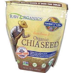 Гарден оф Лайф, Organic Chia Seed, 12 oz (340 g) отзывы