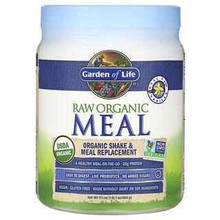 Garden of Life, RAW Organic Meal, Shake & Meal Replacement, Vanilla, 1 lb 1 oz (484 g)