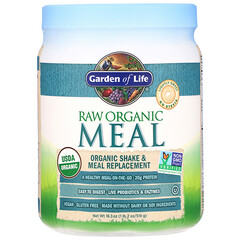 Garden of Life, 未加工有機膳食,奶昔和代餐粉,18.3 盎司(519 克)