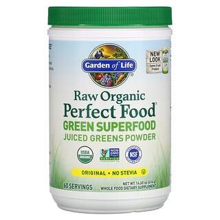 Garden of Life, Raw Organic Perfect Food, Green Superfood, Juiced Greens Powder, Original, 14.6 oz (414 g)