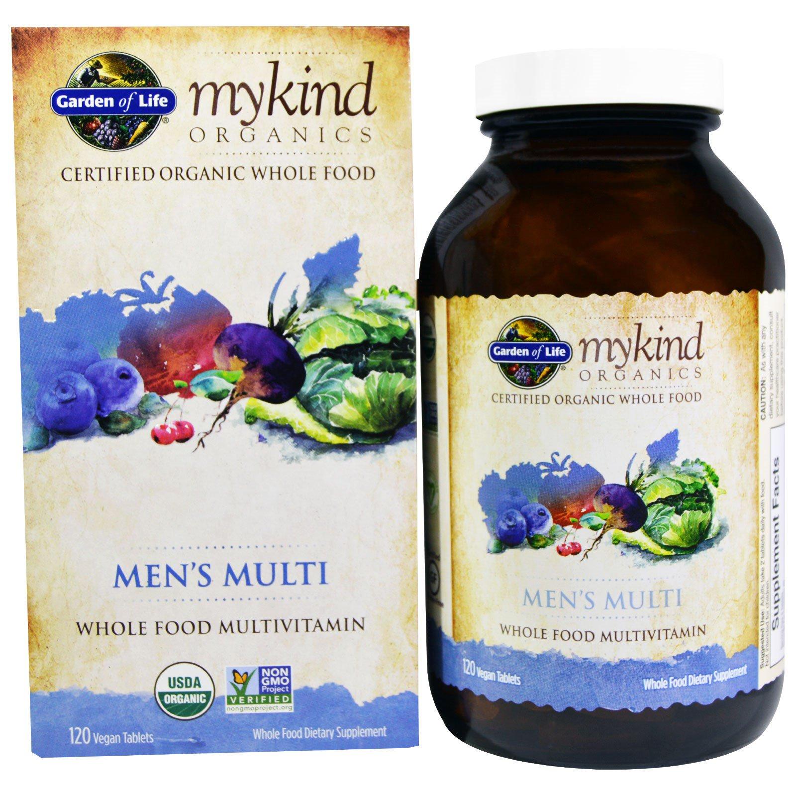 garden of life mens vitamins