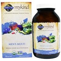 MyKind Organics, мультивитамины для мужчин, цельный мультивитамин, 120 растительных таблеток - фото