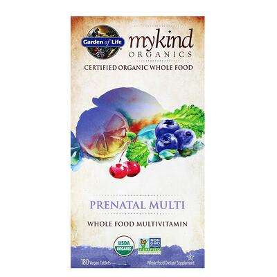 Купить MyKind Organics, Prenatal Multi, 180 Vegan Tablets