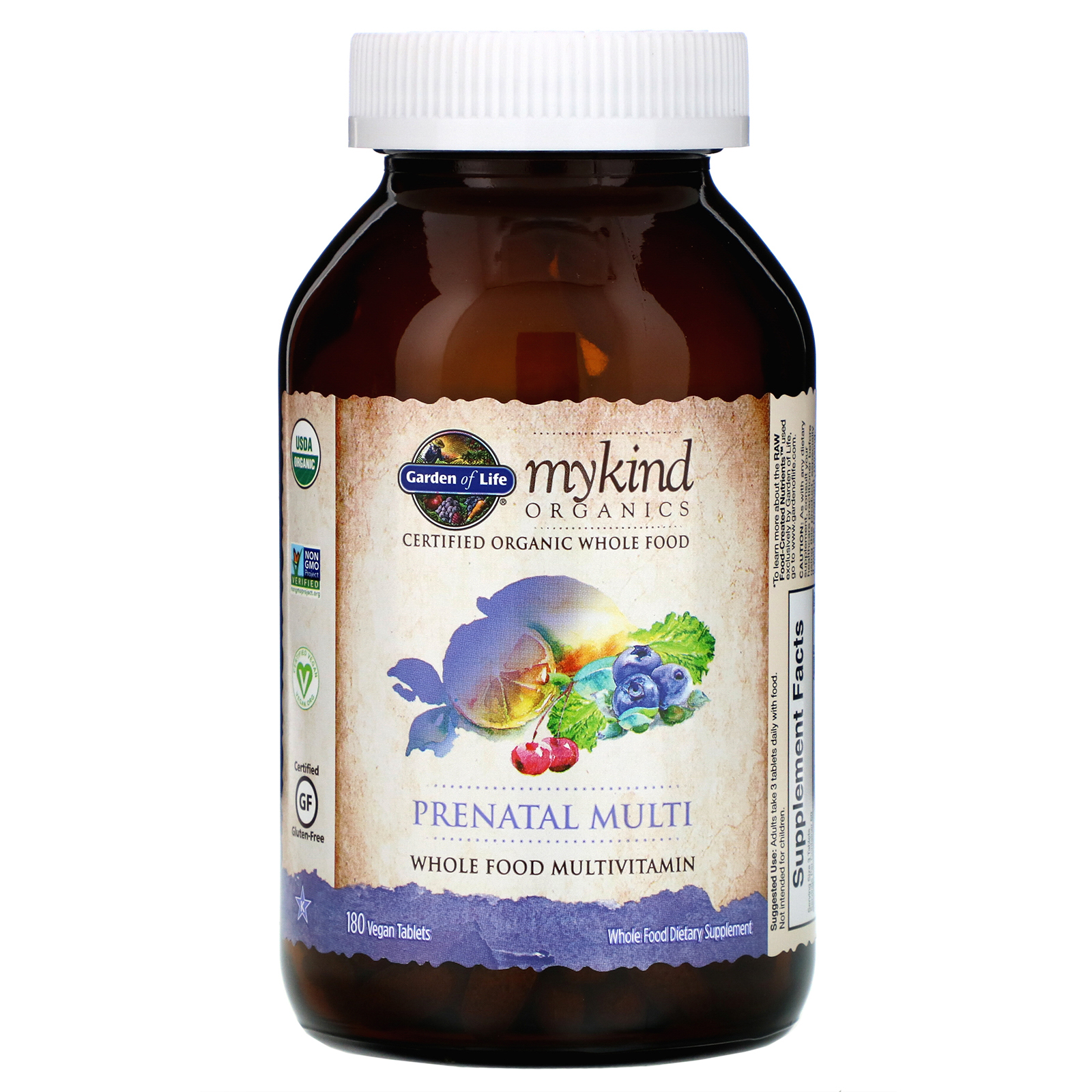 Garden Of Life Mykind Organics Prenatal Multi 180 Vegan Tablets Iherb