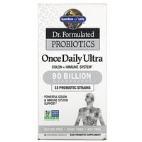Garden of Life, Dr. Formulated Probiotics, Once Daily Ultra, 90 Billion, 30 Vegetarian Capsules