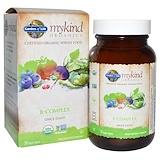 Отзывы о Garden of Life, mykind Organics, B-комплекс, 30 веганских таблеток