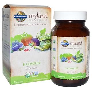 Garden of Life, عضويات طفلي، فيتامينات (ب)، 30 من الأقراص النباتية