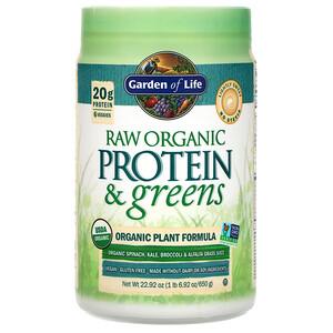 Гарден оф Лайф, RAW Protein & Greens, Organic Plant Formula, Lightly Sweet, 22.92 oz (650 g) отзывы покупателей
