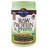 Garden of Life, Raw Protein & Greens, Organic Plant Formula, Real Raw Chocolate Cacao, 22 oz (611 g)