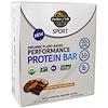 Garden of Life, 스포츠, 유기농 식물 기반 퍼포먼스 단백질 바, 땅콩버터, 12개 - 2.7 oz (75 g)