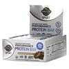 Garden of Life, органический протеиновый батончик на растительной основе для физической активности, со вкусом арахисового масла и шоколада, 12батончиков по 75г (2,64унции)