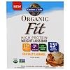Garden of Life, 오가닉 피트 고단백질 체중 감량 바, 바다 소금 캐러멜, 12개, 각 1.9 oz (55 g)