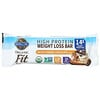 Garden of Life, Organic Fit, High Protein Weight Loss Bar, Salted Caramel Chocolate, 12 Bars, 1.94 oz (55 g) Each