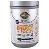 Garden of Life, Sport, Organic Plant-Based Energy + Focus, Pre-Workout, Blackberry, 15.3 oz (432 g)