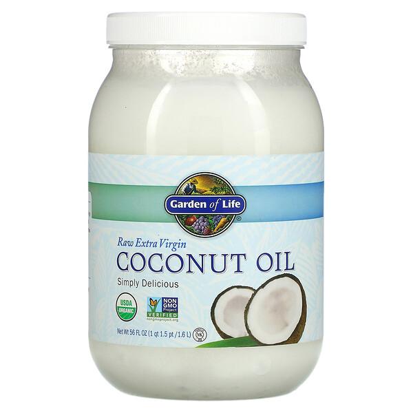 Raw Extra Virgin Coconut Oil, 56 fl oz (1.6 l)