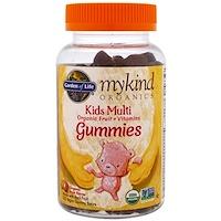 Mykind Organics, жевательные поливитамины для детей, фруктовый вкус, 120 жевательных мишек - фото