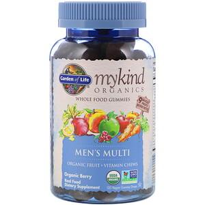 Гарден оф Лайф, MyKind Organics, Men's Multi, Organic Berry, 120 Vegan Gummy Drops отзывы покупателей