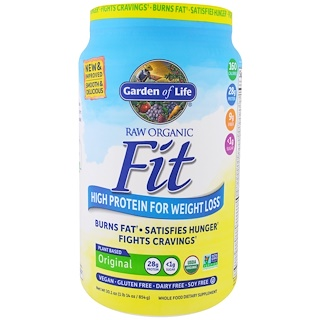 Garden of Life, Raw Organic Fit, High Protein For Weight Loss, Original, 30.1 oz (854 g)