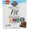 Garden of Life, 유기농 핏, 고단백 체중 감량 바, 초콜릿 아몬드 브라우니, 12 개, 각 1.9 oz (55 g)
