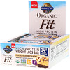 Garden of Life, Organic Fit, High Protein Weight Loss Bar, Chocolate Coconut Almond, 12 Bars, 1.9 oz (55 g) Each