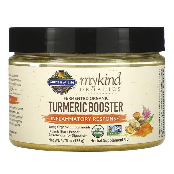 MyKind Organics, Fermented Organic Turmeric Boost, Inflammatory Response, 4.76 oz (135 g)