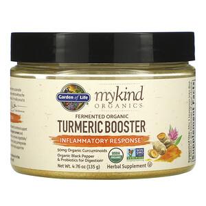 Гарден оф Лайф, MyKind Organics, Fermented Organic Turmeric Boost, Inflammatory Response, 4.76 oz (135 g) отзывы