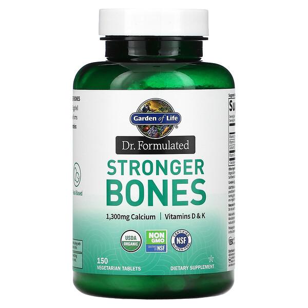 Dr. Formulated, Stronger Bones, 150 Vegetarian Tablets