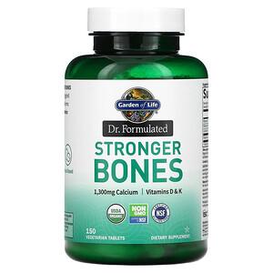 Garden of Life, Dr. Formulated, Stronger Bones, 150 Vegetarian Tablets'