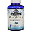Garden of Life, Dr. Formulated, Advanced Omega, Lemon, 180 Softgels