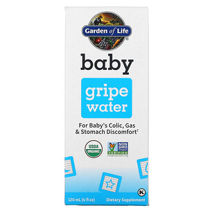 Garden of Life, Baby, Gripe Water, 4 fl oz ( 120 ml)
