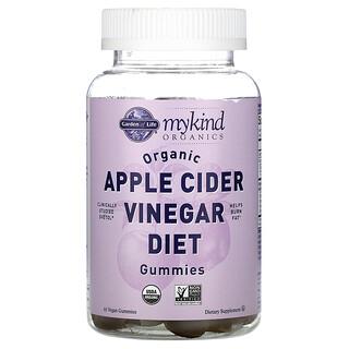 Garden of Life, MyKind Organics, Organic Apple Cider Vinegar Diet Gummies, 63 Vegan Gummies