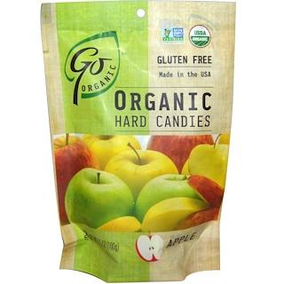 GoOrganic, Organic Hard Candies, Apple, 3.5 oz (100 g)