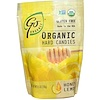 Go Organic, Organic Hard Candies, Honey Lemon, 3.5 oz (100 g)