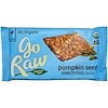 Go Raw, Organic, Pumpkin Seed Sprouted Bar, 1.8 oz (51 g)