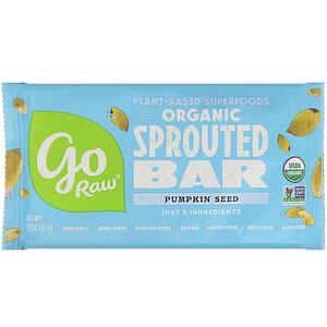 Го Ро, Organic, Pumpkin Seed Sprouted Bar, 1.8 oz (51 g) отзывы покупателей