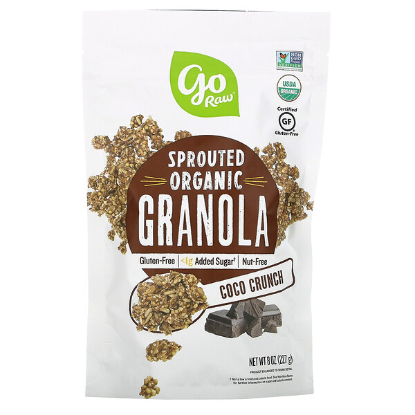 Sprouted Organic Granola, Coco Crunch, 8 oz (227 g)