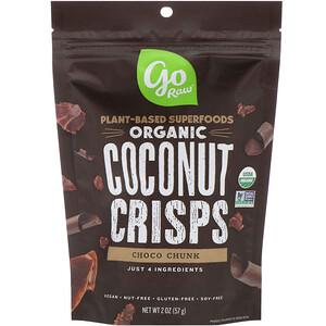 Го Ро, Organic, Coconut Crisps, Choco Chunk, 2 oz (57 g) отзывы покупателей