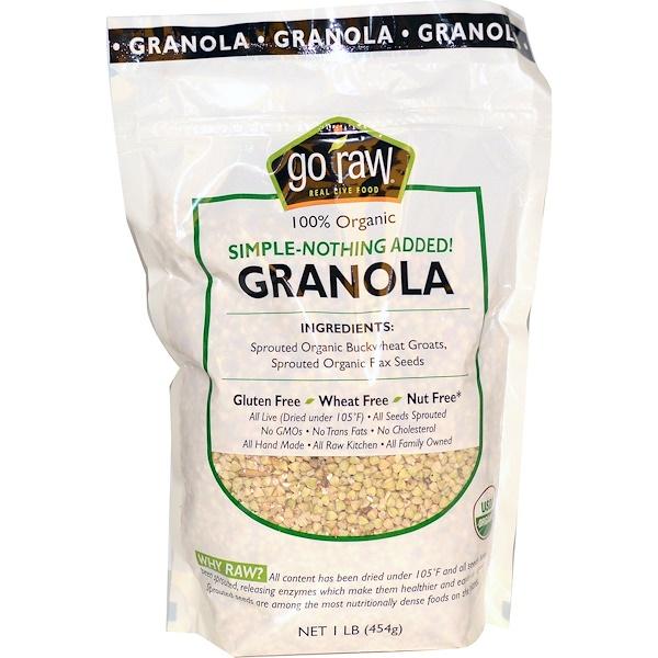 Go Raw, Organic Granola, 1 lb (454 g) (Discontinued Item)