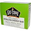 Go Raw, Organic, Spirulina Energy Bars, 10 Bars, 14 g Each (Discontinued Item)