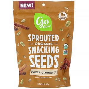 Го Ро, Organic, Sprouted Snacking Seeds, Sweet Cinnamon, 4 oz (113 g) отзывы