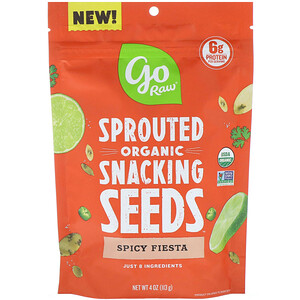 Го Ро, Organic, Sprouted Snacking Seeds, Spicy Fiesta, 4 oz (113 g) отзывы